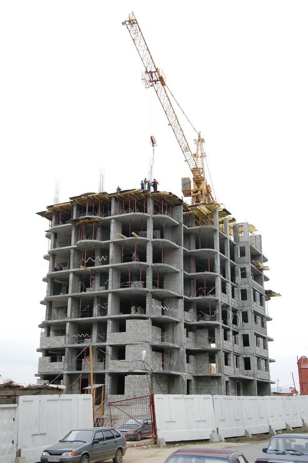 Строительство дома №9.
