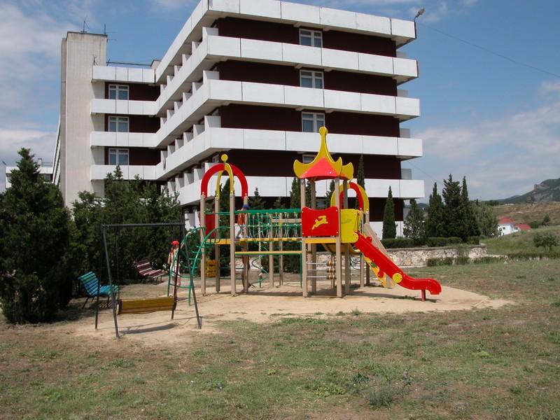 Обустройства детской площадки